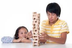 Children play stock photo