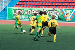 Children play football. Stock Photos