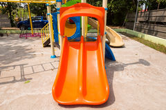 Children play ground in park of thailand. Royalty Free Stock Photo