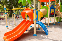 Children play ground in park of thailand. Royalty Free Stock Images