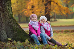 Children at play in the park Royalty Free Stock Images