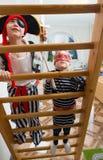 Children play pirates Royalty Free Stock Photos