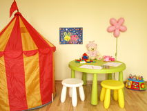 Children play room Stock Photo