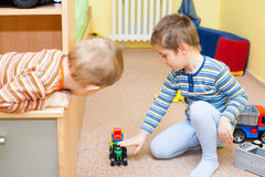 Children play with toys Stock Photos