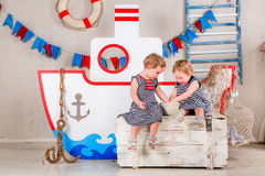 Children play. Royalty Free Stock Photo