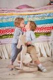 Children play. Royalty Free Stock Photo