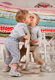 Children play. Royalty Free Stock Image