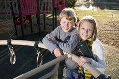 Children on playground Stock Image