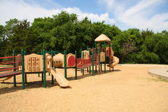 Children playground. In  the park Royalty Free Stock Photo
