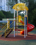 Children playground. In the yard Royalty Free Stock Image