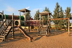 Children Playground Royalty Free Stock Photos