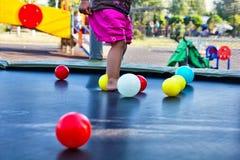 2 children playground Στοκ φωτογραφία με δικαίωμα ελεύθερης χρήσης