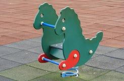 2 children playground Στοκ εικόνες με δικαίωμα ελεύθερης χρήσης