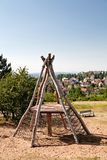 2 children playground Стоковые Изображения