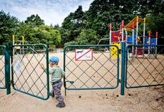 2 children playground Стоковые Фотографии RF