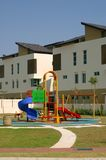 Children Playground. Newly constructed children playground infront of luxury home Royalty Free Stock Image