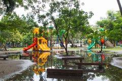 2 children playground Стоковое Фото