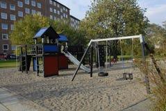 2 children playground 图库摄影