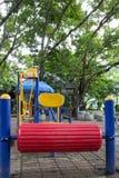2 children playground Royaltyfri Fotografi