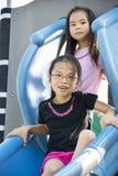 Children at Playground Royalty Free Stock Photos
