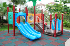 Children playground in the apartments Stock Image