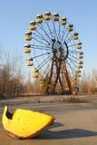 Children Playground in Chernobyl stock image