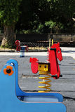 Children playground in a city, empty Royalty Free Stock Photography