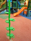 Children playground composite equipment Stock Photography