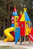 Playground equipment Royalty Free Stock Images