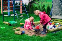 Children on the playground Stock Photos