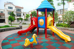 Free Children Playground In The Apartments Stock Image - 62018191