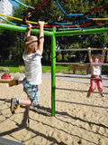 Children at playground Royalty Free Stock Images