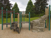 Children playground in a park. Stock Photography