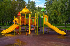Children playground. In the park Stock Images