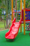 Children playground in the park Royalty Free Stock Image