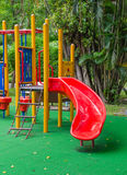 Children playground in the park Royalty Free Stock Photography