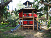 Children playground in park. Children playground in the park Stock Photos