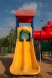 Children playground in park Stock Photo