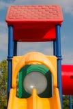 Children playground in park Stock Photos