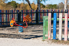 Children playground in the park. Stock Photography