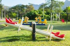 Children playground park. Stock Image