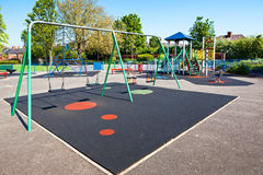 Children playground in the park Stock Image