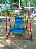 Children playground in the park Stock Photography