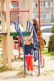 Children at the playground Royalty Free Stock Photography