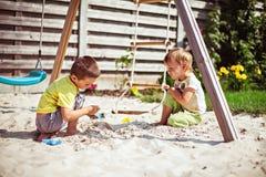 Children on playground Royalty Free Stock Image