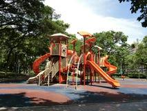 Children Playground. In Punggol Park stock photos
