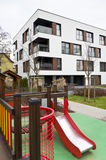 Children playground on real estate Stock Images