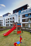 Children playground on real estate Royalty Free Stock Photography