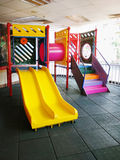 Children playground in the room Royalty Free Stock Photos