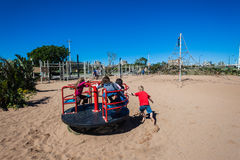 Children Playground Parks Fun Royalty Free Stock Images